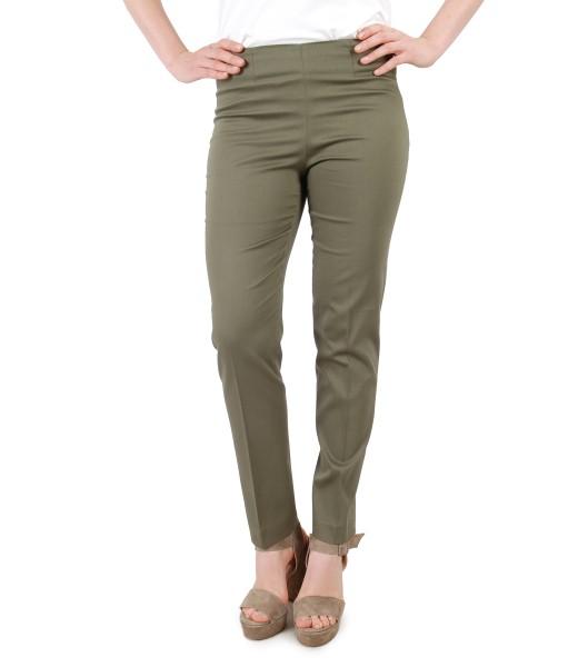 Textured cotton pants