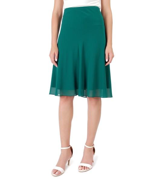 Semiclos veil skirt
