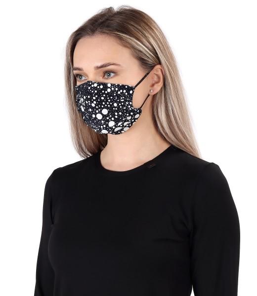 Reusable elastic jersey mask