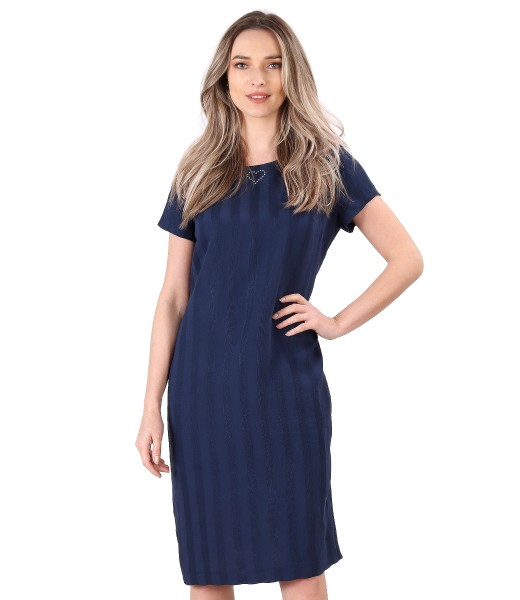 Casual viscose dress
